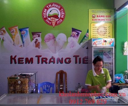 Dự án lắp đặt kho lạnh bảo quản kem tại Hà Nội