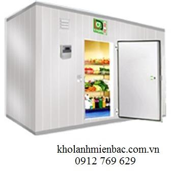 Kết cấu cách nhiệt và kích thước kho lạnh cấp đông bảo quản thịt