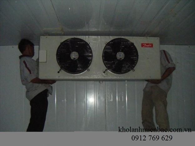 Lắp đặt kho lạnh tại nhà hàng Hải Long
