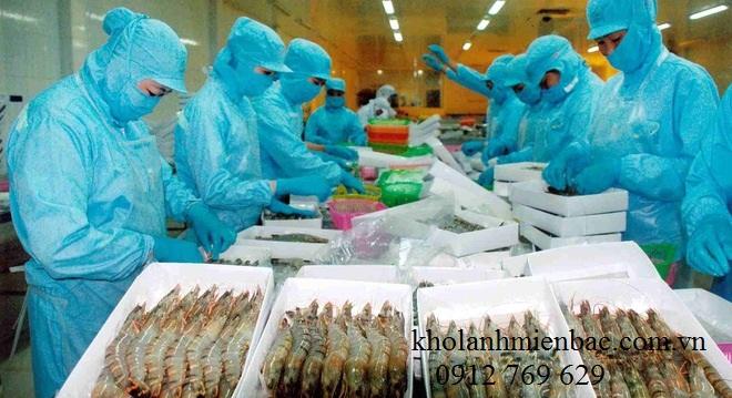 Sửa kho lạnh tại công ty chế biến thủy sản