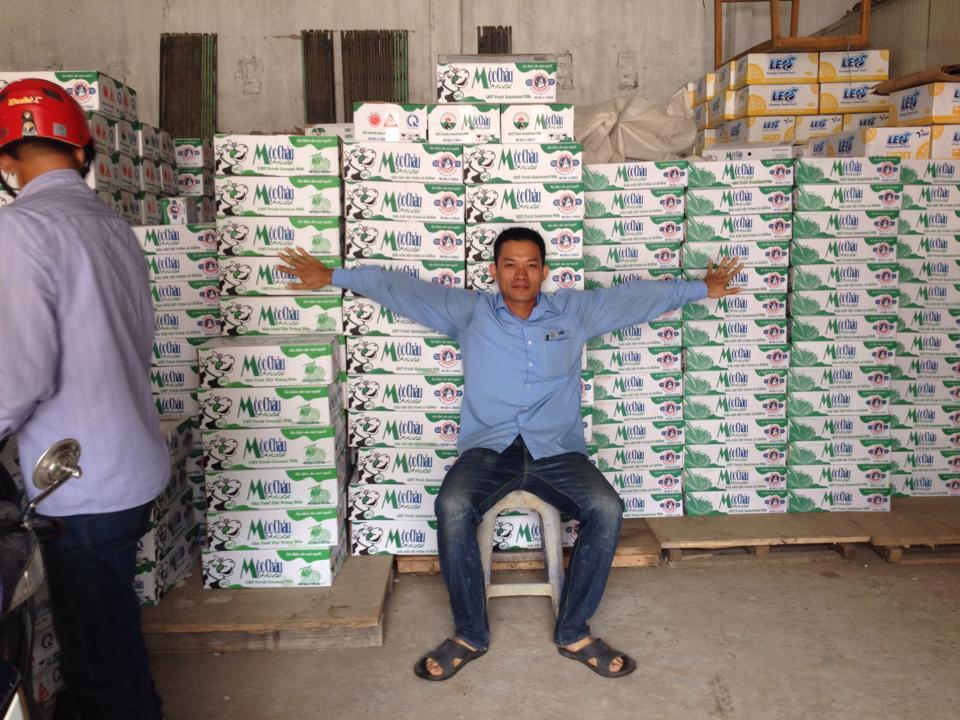 Lắp đặt kho lạnh sữa chua tại Cao Bằng
