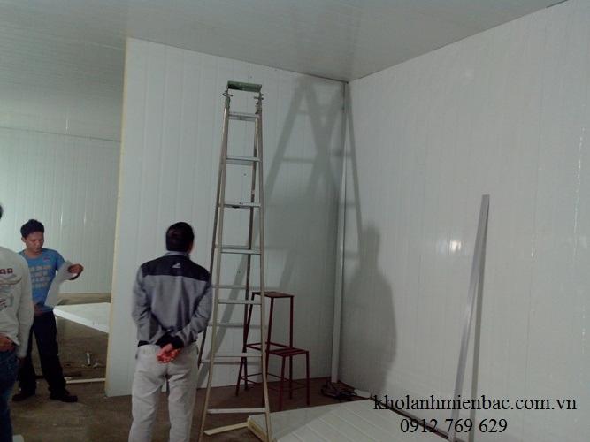 Lắp đặt kho lạnh thực phẩm tại Hà Nội