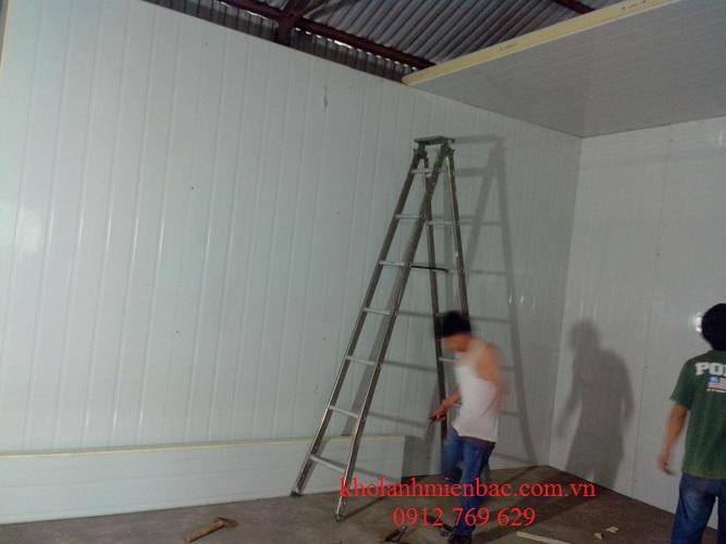 Lắp đặt kho lạnh bảo quản thực phẩm tại An Khánh