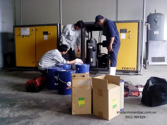 Quy trình lắp đặt kho lạnh công nghiệp